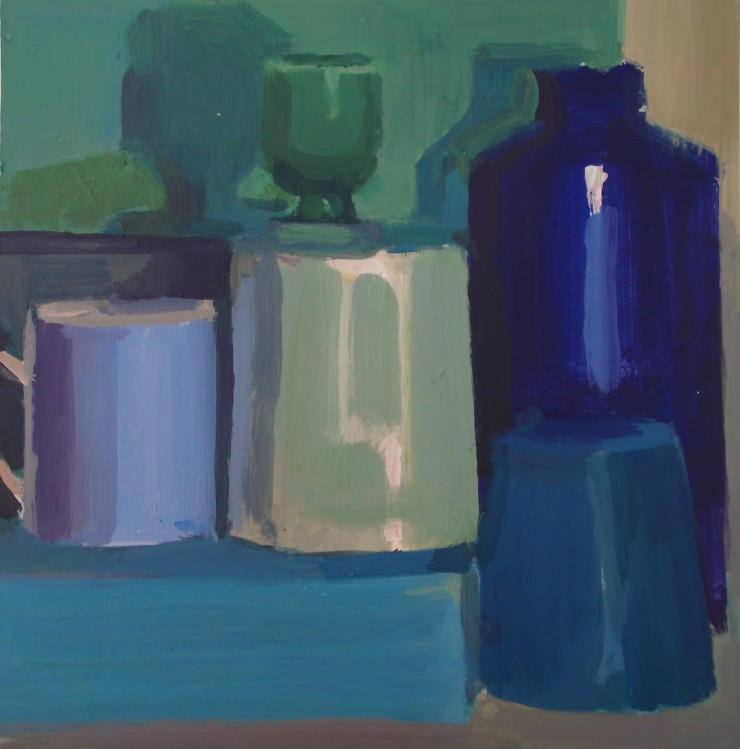 blue still life May 17